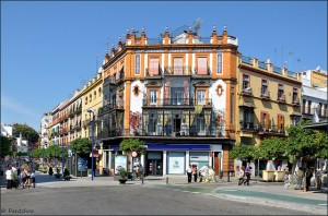 Sevilla : Triana : La Plaza del Altozano
