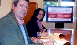 La Fundación Doña María firma una colaboración solidaria con la UPTA