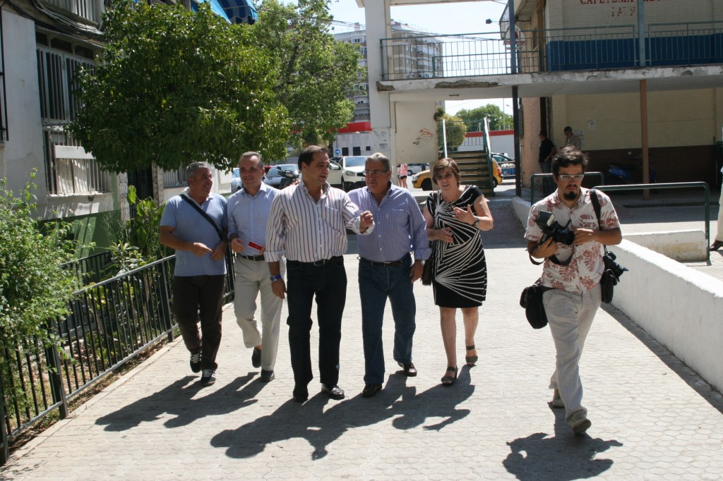 Francisco Torres, Juan Bueno, Jaime Ruiz, Juan Ignacio Zoido y Cristobalina Moro.