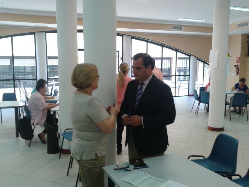 La organización de los talleres ha estado encabezada por el delegado, Jaime Ruiz.