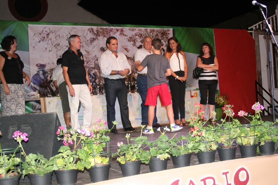 Durante la noche del domingo se entregaron los premios a los ganadores de los diferentes concursos.