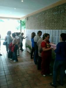 Más de mil personas han pasado hoy por el Centro Cívico