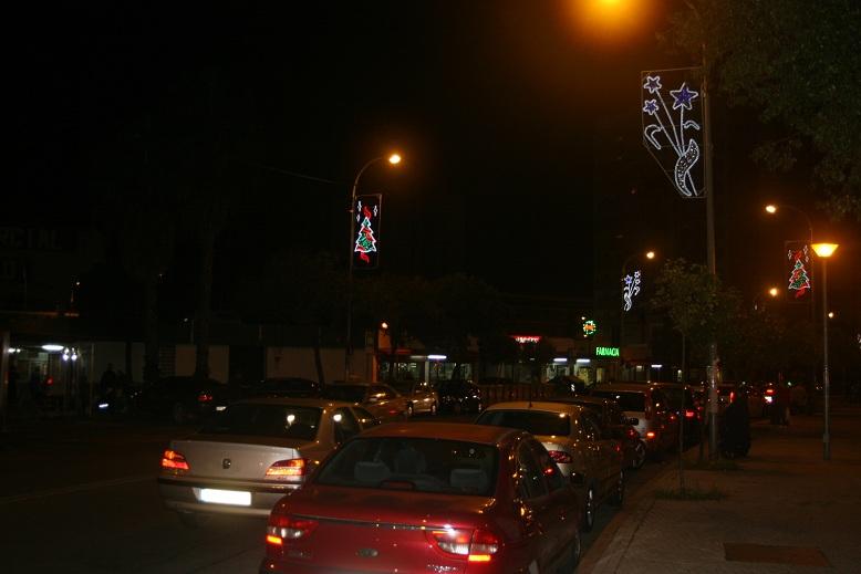 El distrito San Pablo-Santa Justa ha visto incrementada de 6 a 9 las calles alumbradas.