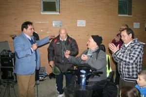 """Jaime Ruiz, Manuel Varela, """"Joselito"""", Carlos Varela y Antonio Ramiro."""