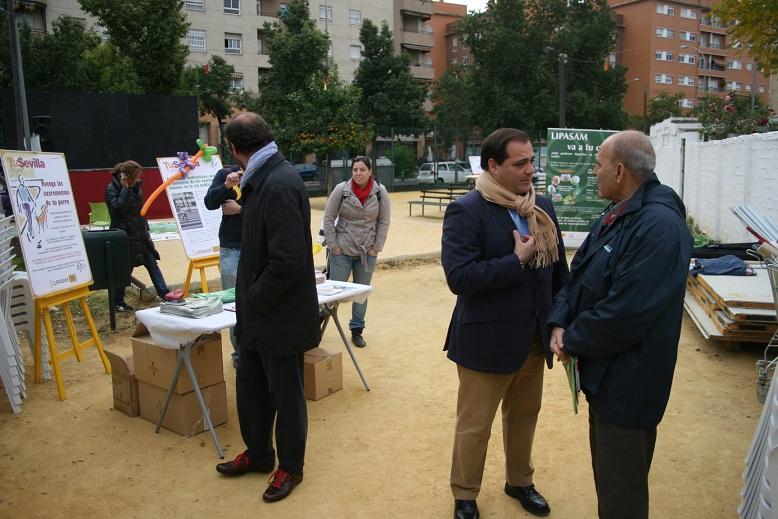 Lipasam presentó varios talleres con los que concienciar a los ciudadanos.