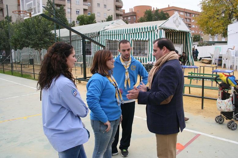 El grupo de Scouts Tarsis volvió a colaborar con el distrito San Pablo-Santa Justa.