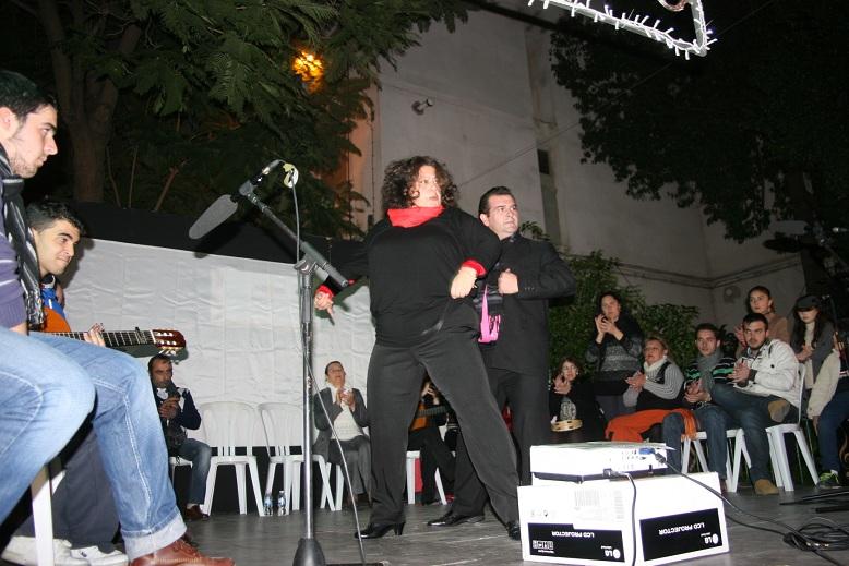 Rosana y Modesto del Río, acompañados del coro de la Corza, estuvieron magistrales al cante y al baile.