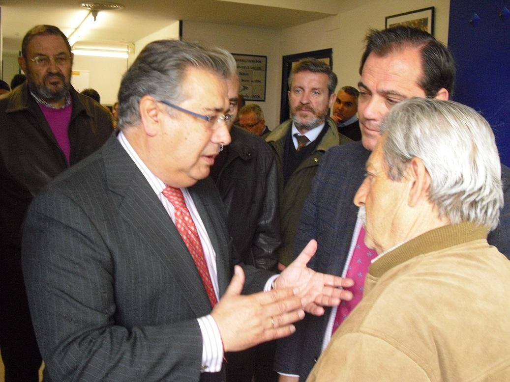 Durante la reciente visita de Zoido al nuevo Espacio Ciudadano