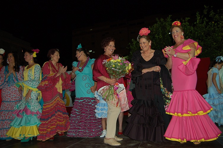Las alumnas de Ana Rosal demostraron el trabajo del año en un gran desfile
