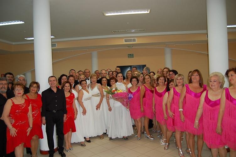 Reme Salgado y los alumnos de sus talleres de Baile de Salón deleitaron al público en un fantástico final para la clausura de 2014