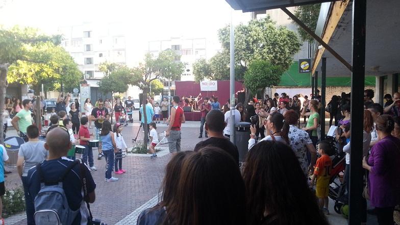 La Batucada, las interpretaciones y la danza tomaron la Plaza de la Toná