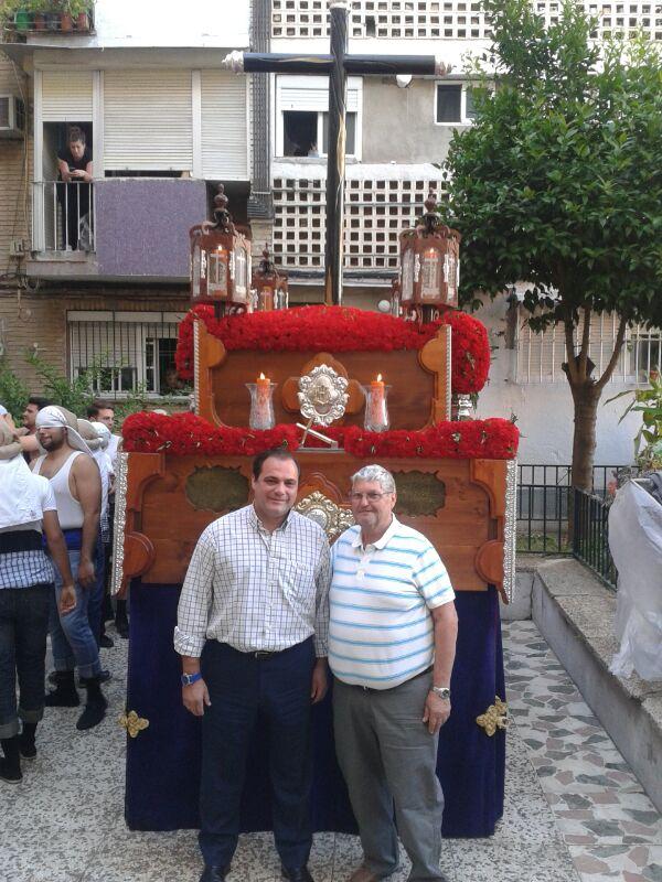 Junto a Manuel Álvarez Bayón