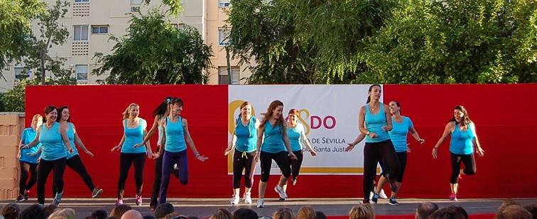 El aeróbic de Cristina López De la Viña