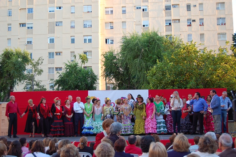 Modesto Del Río y sus alumnos alegraron los corazones de los asistentes con sus sevillanas