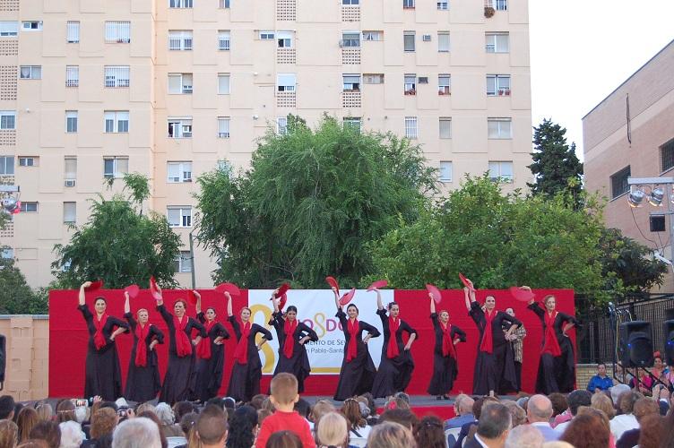 Gran nivel y arte en la exhibición de Baile Flamenco