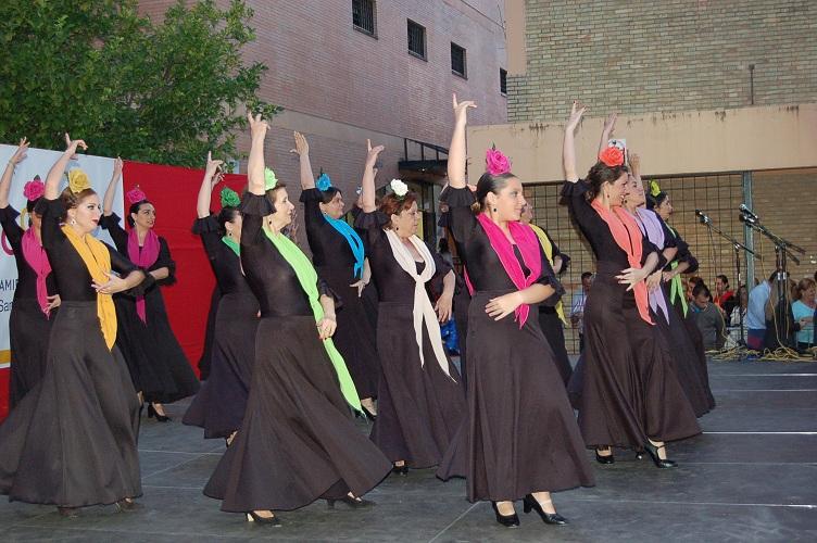 El Baile Flamenco interpretado por las alumnas de nivel intermedio de Carmen Montiel