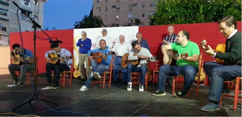 Javier Gemio como de costumbre al frente de un Taller de Guitarra de alto nivel