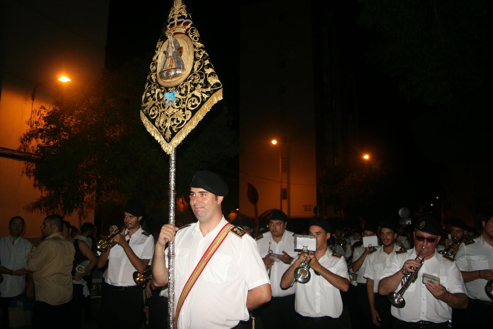 La Banda Virgen de los Reyes.