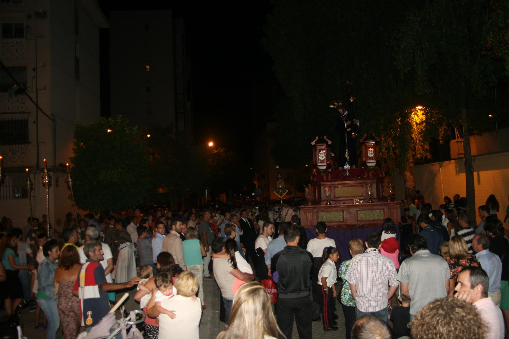 La plaza Cristo y Alma