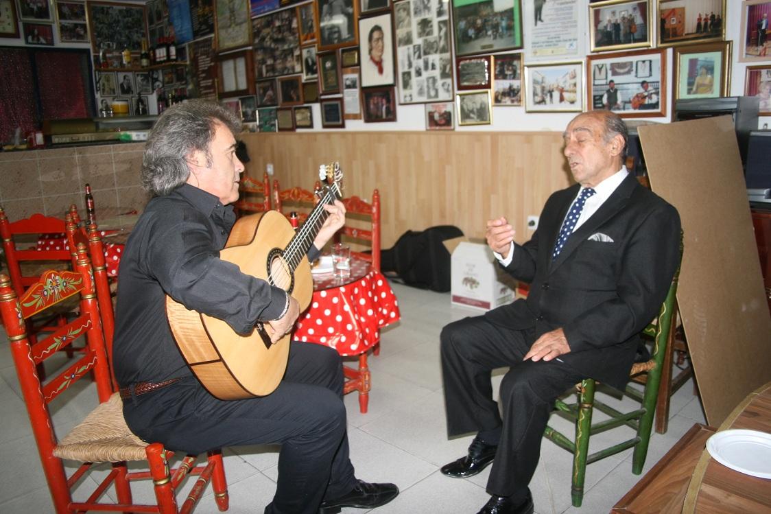 El cantaor Jesús Heredia participó en el festival como artista invitado.