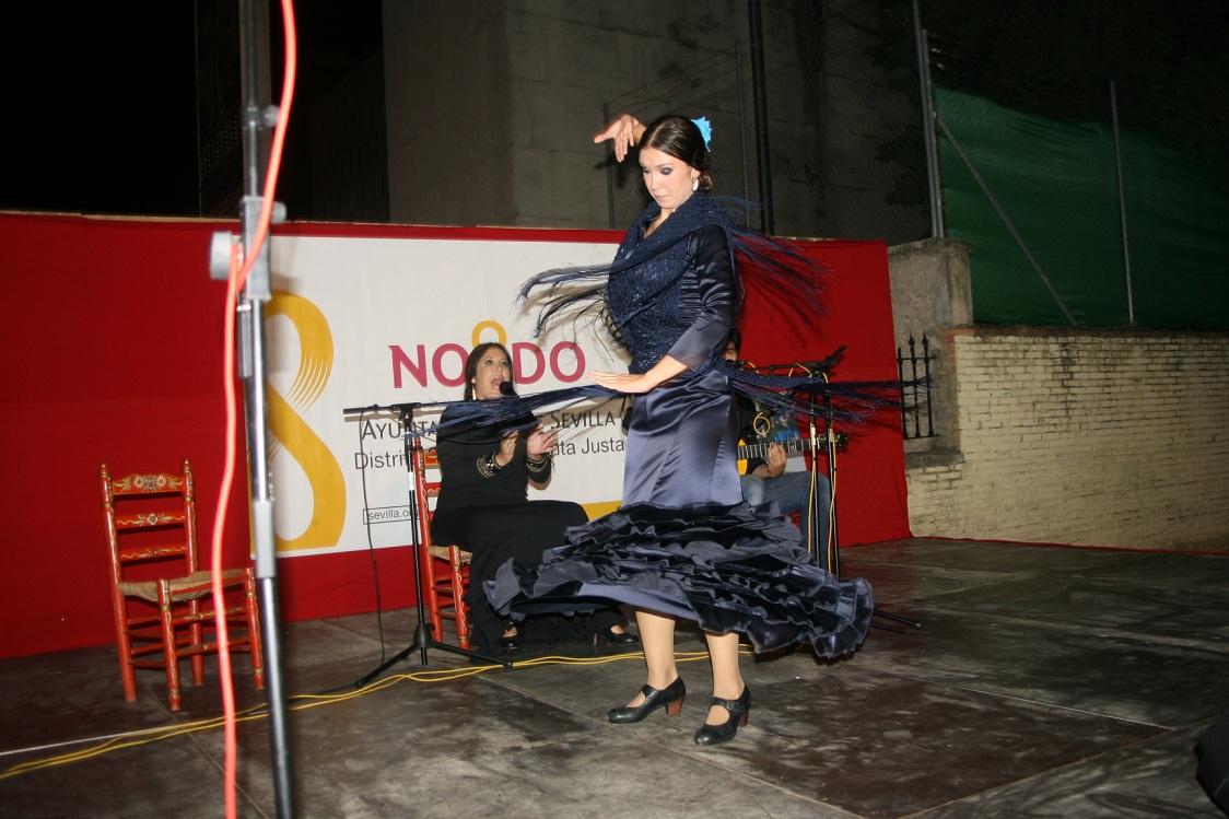 """La jornada del sábado se tituló """"Flamenco por Partes, Distrito Bienal"""" y estuvo protagonizada por Carlos Llave, Cristina Tovar y Adriana Bilbao."""