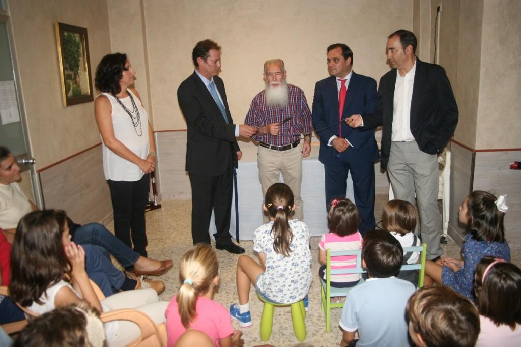 El socio más antiguo, Manuel Pelayo, ha vuelto a dejarse ver por la asociación y también tuvo su reconocimiento.