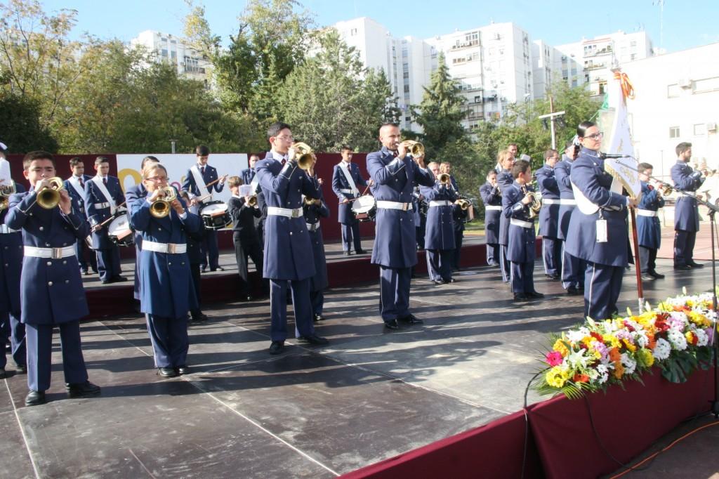 La Banda de Tambores y Cornetas Nazareno de Sevilla.