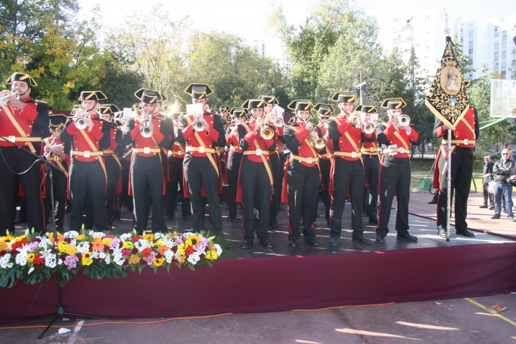 La Agrupación Musical Nuestra Señora de los Reyes.
