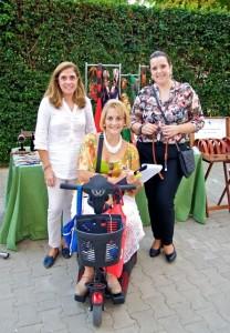 La secretaria de la A.VV. Gran Vía, Ana María Soria, en el centro de la imagen, está aportando compromiso e iniciativa.