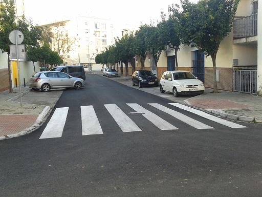 asfaltado de la corza
