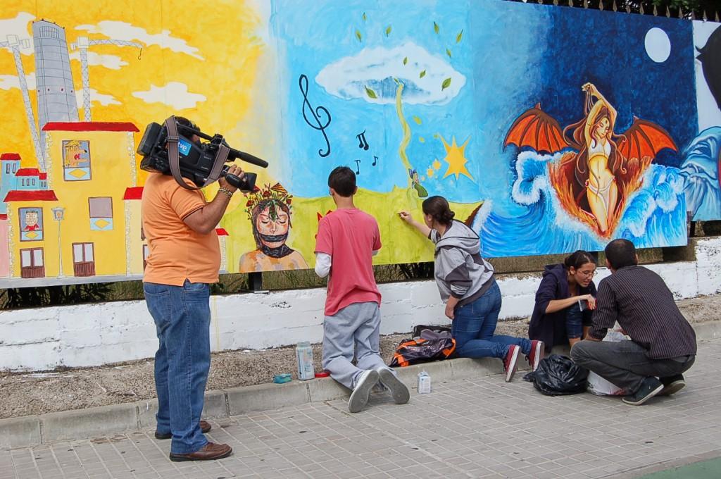 II experimento arte urbano