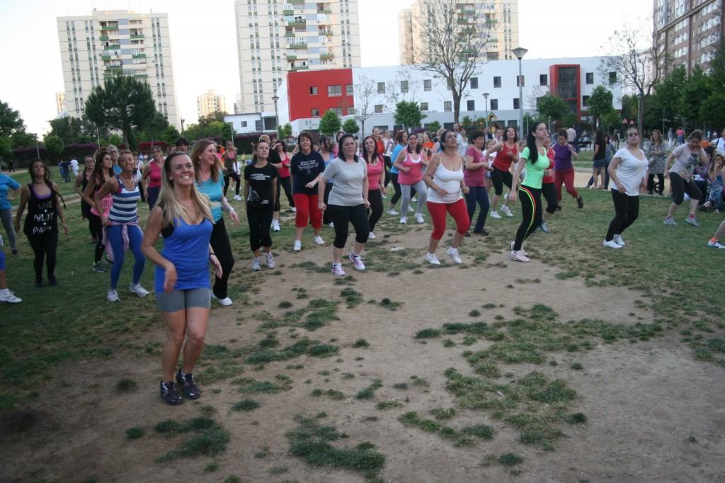 El I Encuentro organizado por el Distrito se celebró en el parque Gran Vía en mayo de 2013.