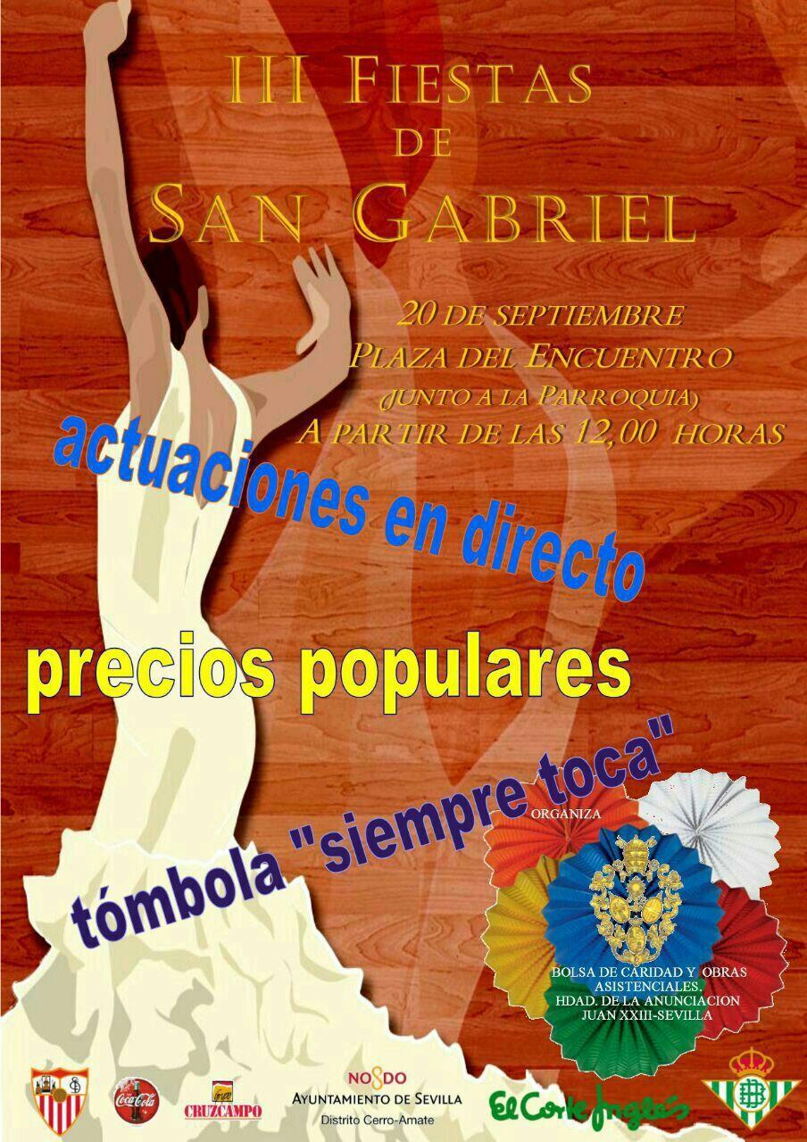 FIESTA DE SAN GABRIEL