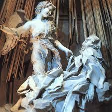 El Éxtasis de Santa Teresa. De Bernini.