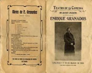 Enrique_Granados_programa_concierto