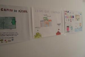 Murales con sus ideas