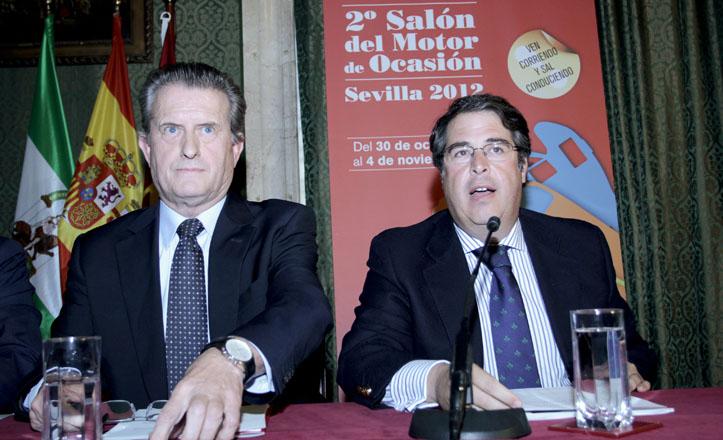 Gregorio Serrano acompañado de Eusebio Gallego