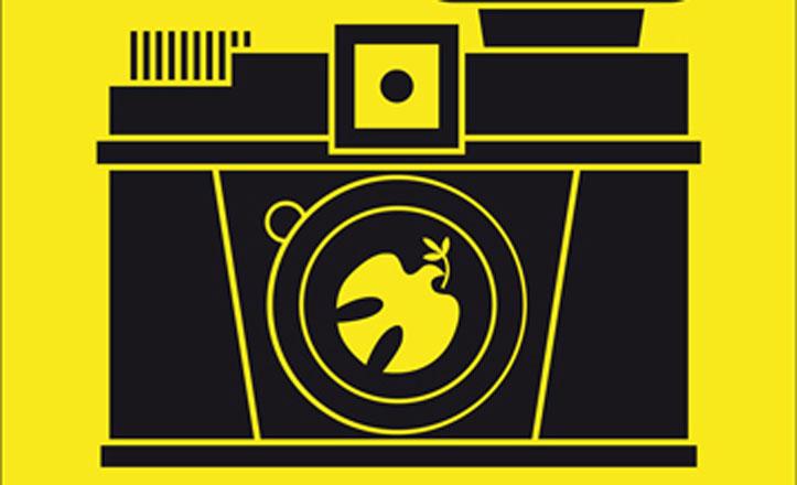 Cartel Fotógrafos por la libertad y la paz