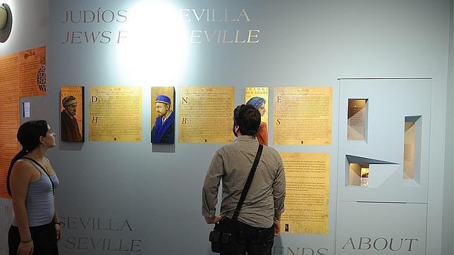 Paneles explicativos del Centro de Interpretación de la Judería de Sevilla