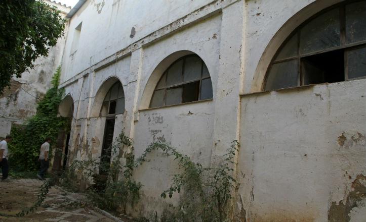 Uno de los espacios aún no rehabilitados del convento de Santa Clara