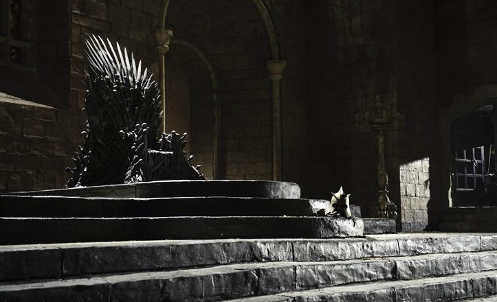 Escena de la serie «Juego de tronos»