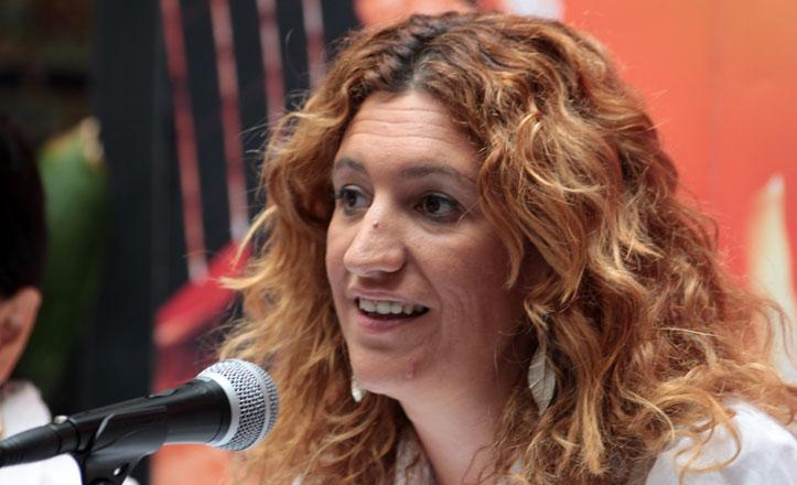La directora del instituto Andaluz de Flamenco, María de los Ángeles Carrasco