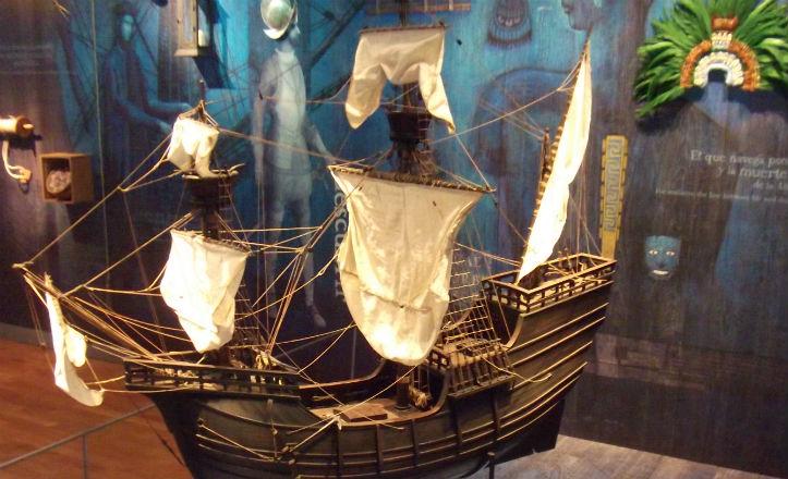 pabellón de la navegación de Sevilla