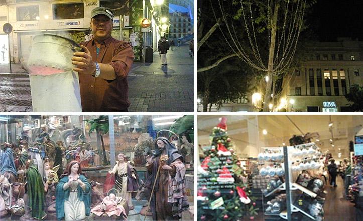 La navidad llega a las calles del Casco Antiguo