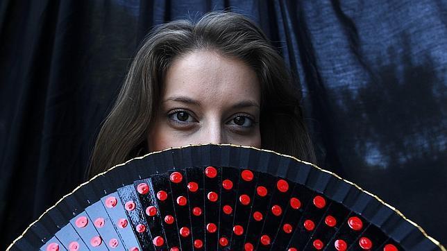 La cantante de flamenco Argentina