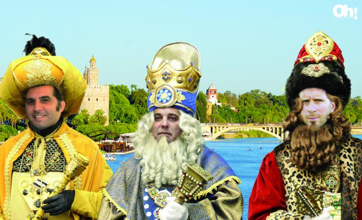 Los reyes magos de Triana de la Cabalgata 2013