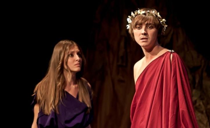 Antígona, interpretada por actores ciegos