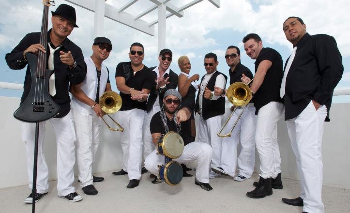 El grupo de música Timbalive