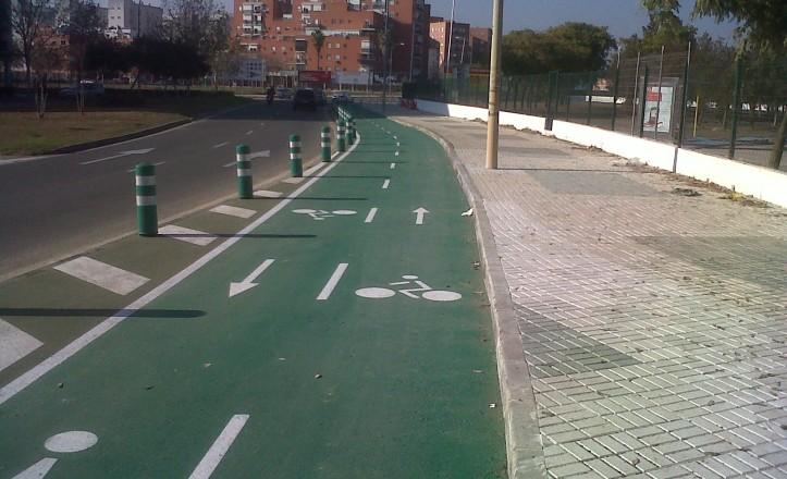 IU lamenta el «retraso» de Zoido a la hora de ampliar los carriles bici