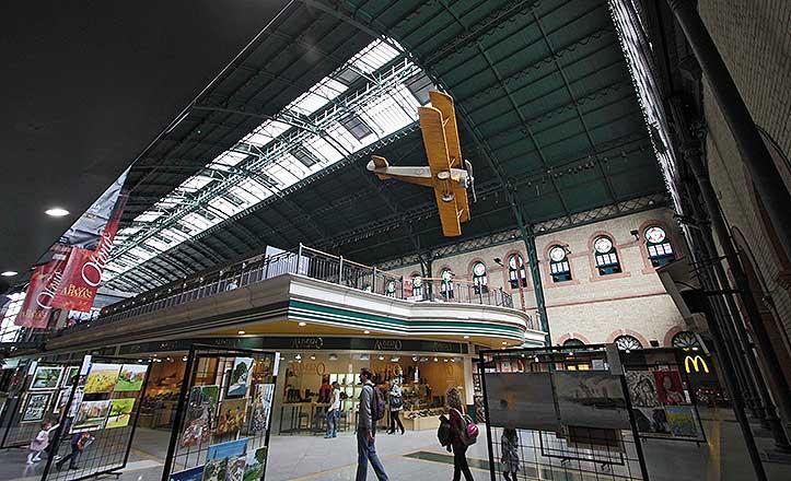 El centro comercial plaza de Armas.